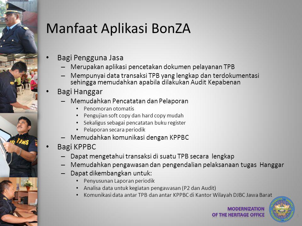 Manfaat Aplikasi BonZA