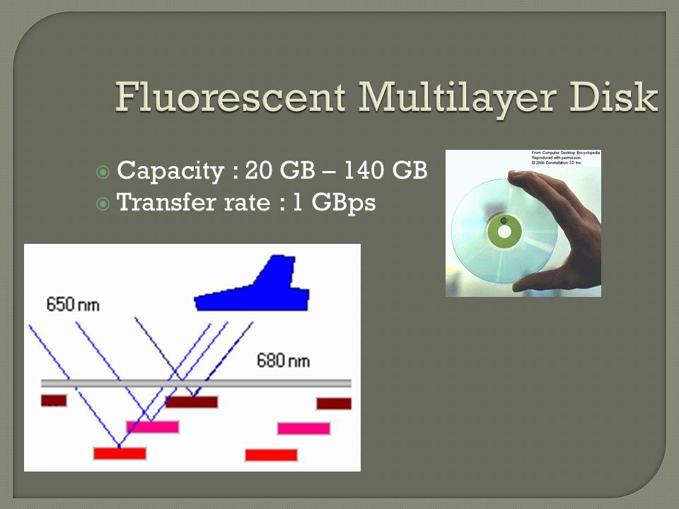 Fluorescent Multilayer Disk
