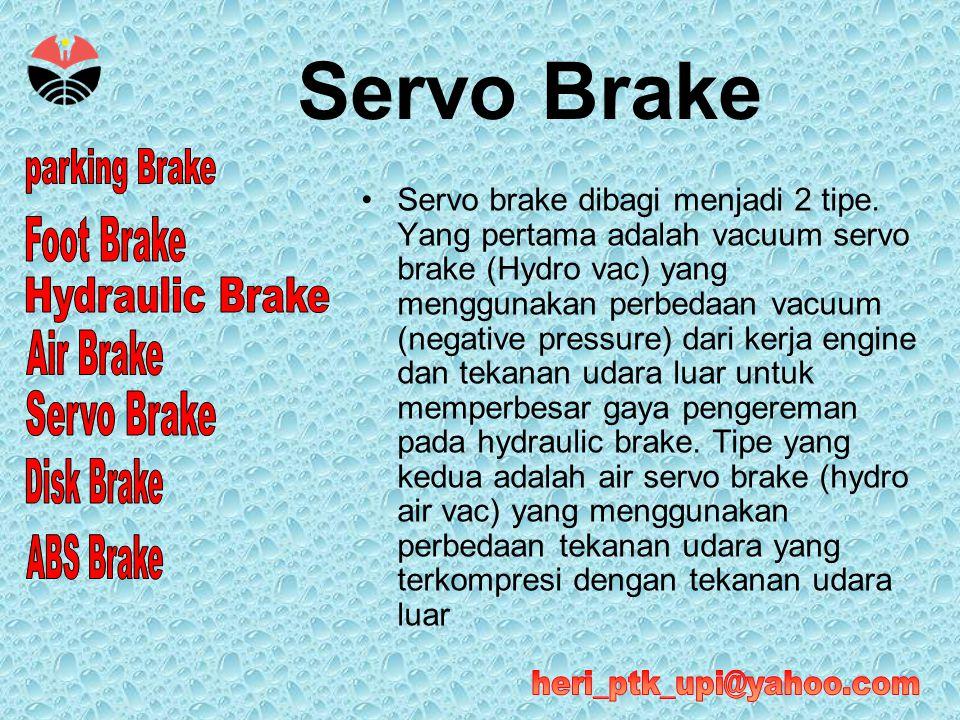 Servo Brake