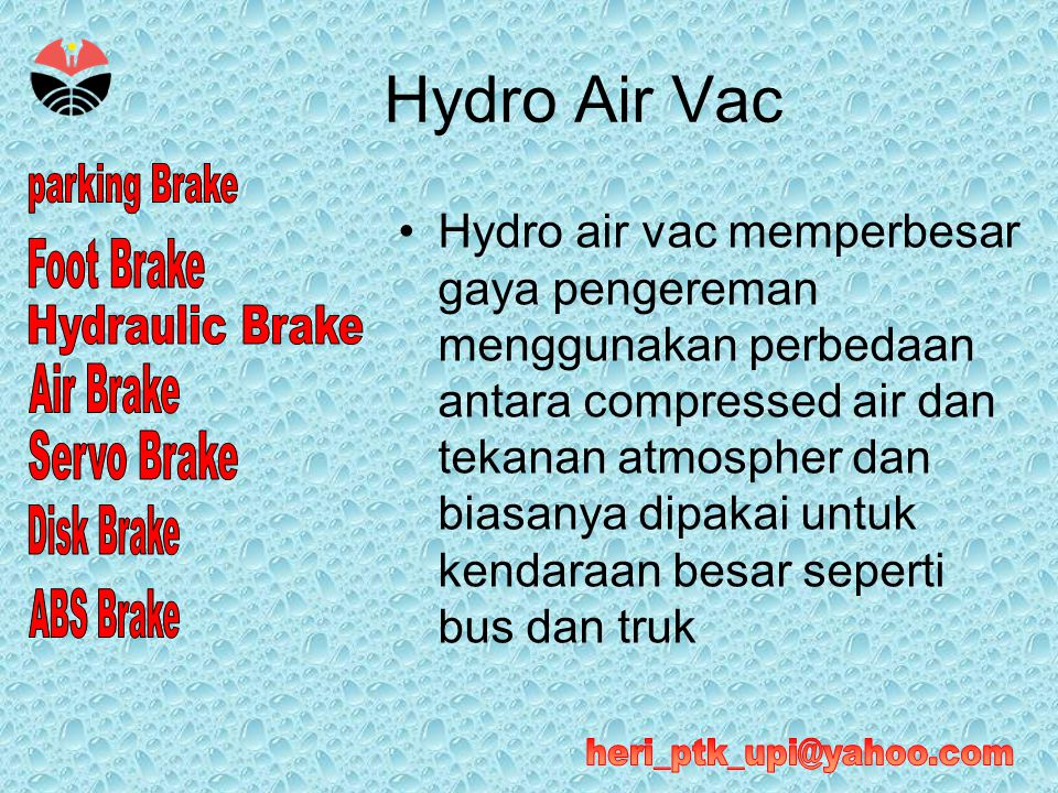 Hydro Air Vac