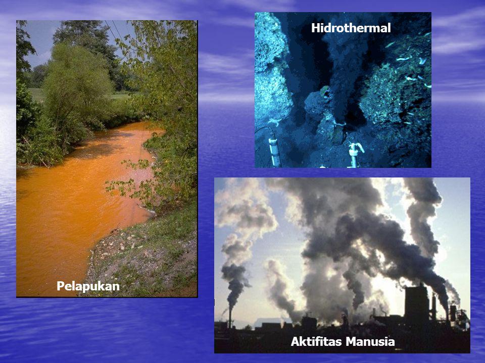 Hidrothermal Pelapukan Aktifitas Manusia