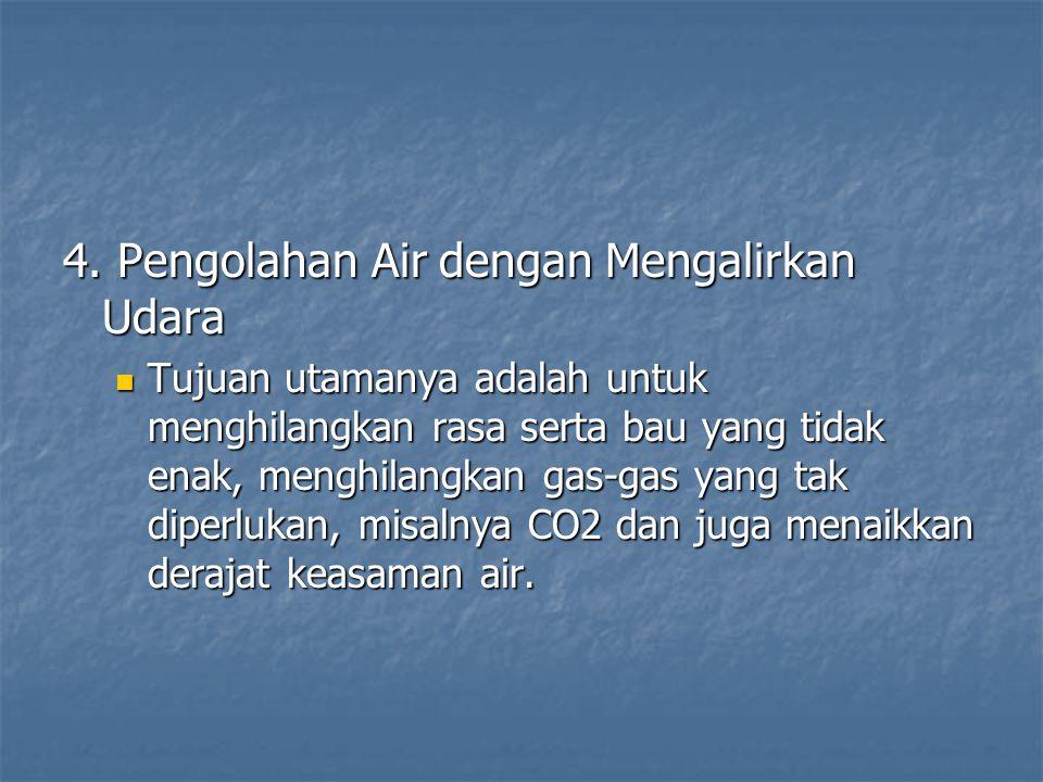 4. Pengolahan Air dengan Mengalirkan Udara