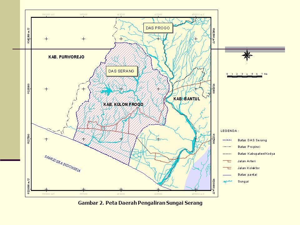 Gambar 2. Peta Daerah Pengaliran Sungai Serang