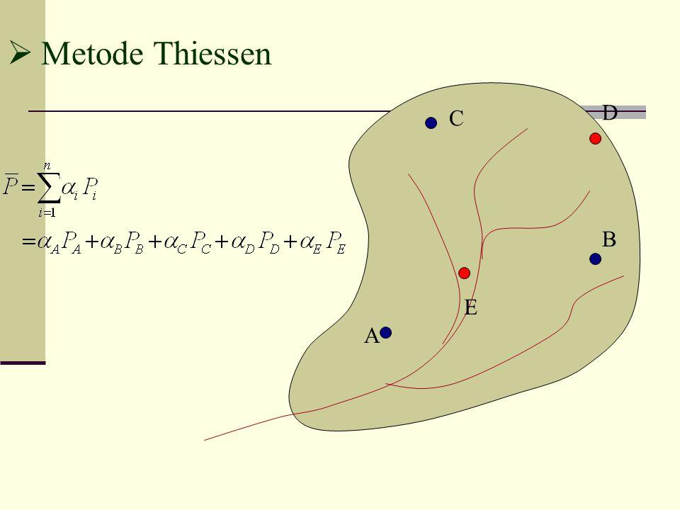 Metode Thiessen D C B E A