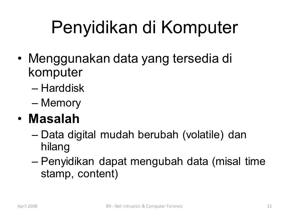 Penyidikan di Komputer