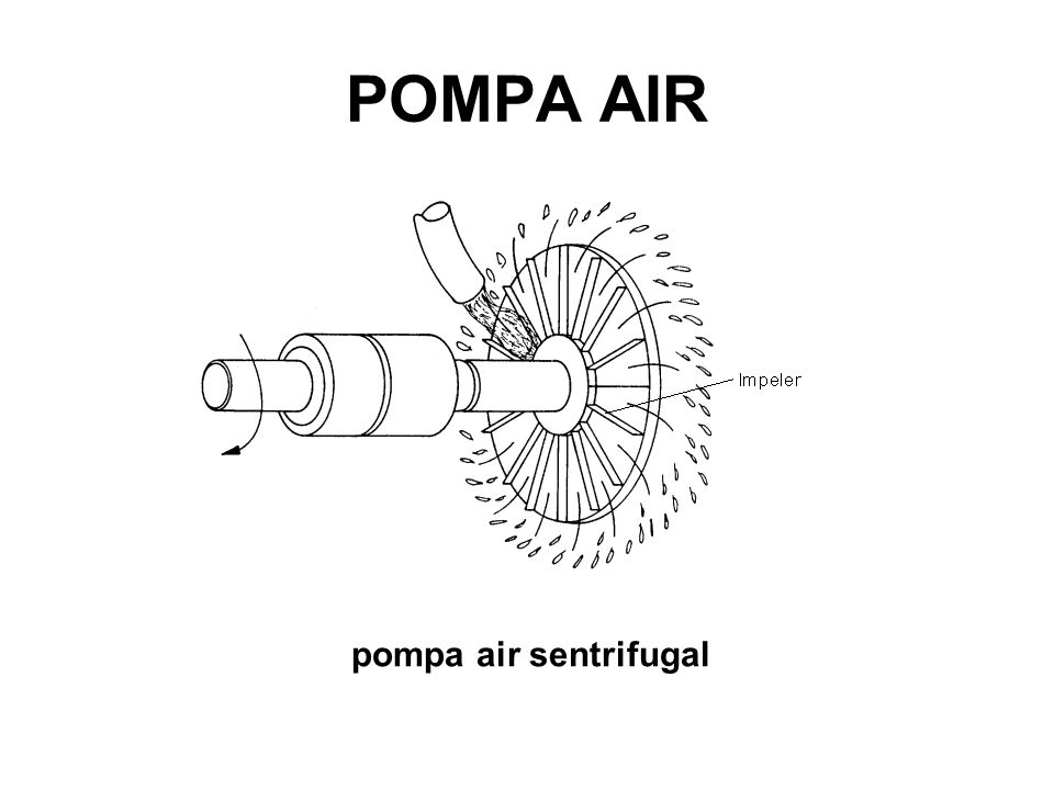 POMPA AIR pompa air sentrifugal