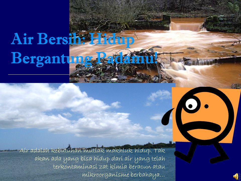 Air Bersih: Hidup Bergantung Padamu!