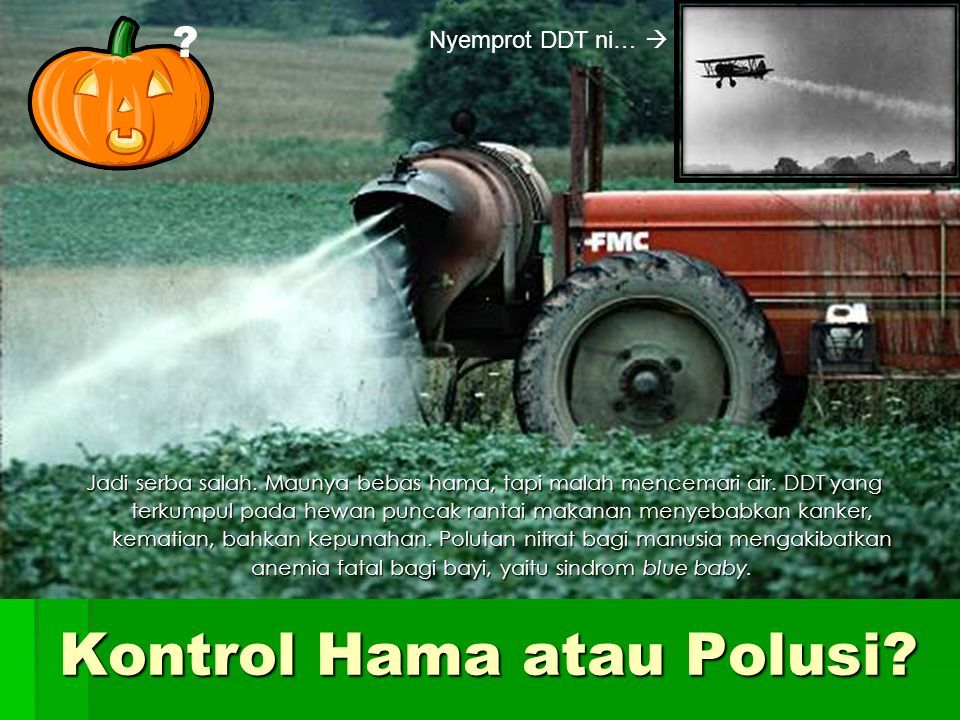 Kontrol Hama atau Polusi