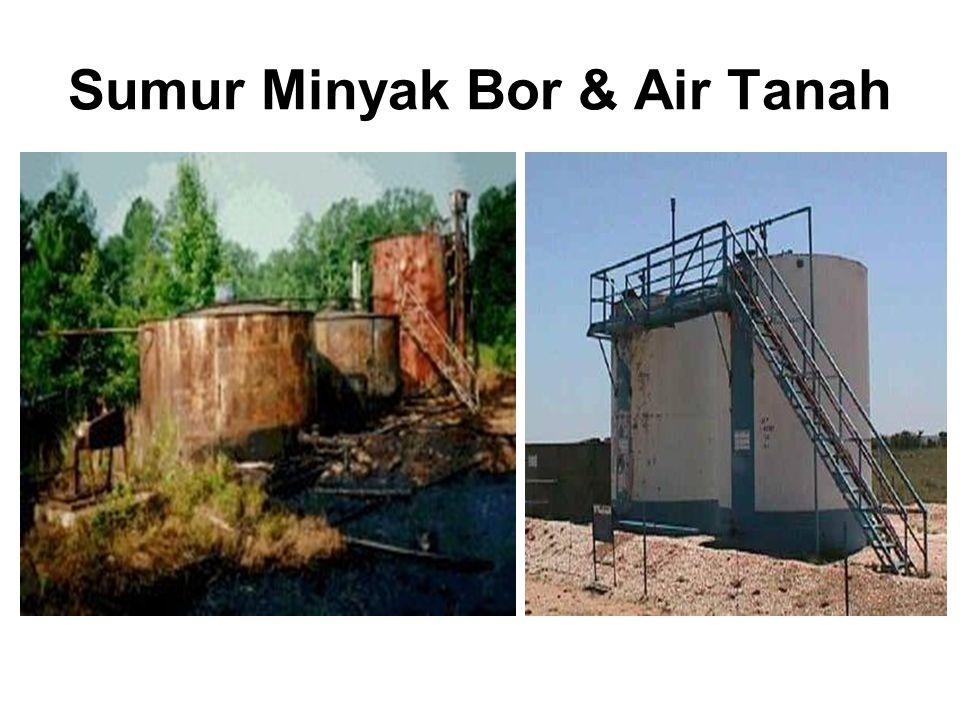 Sumur Minyak Bor & Air Tanah