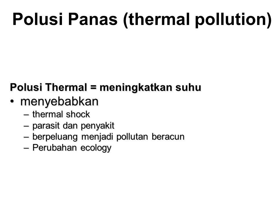 Polusi Panas (thermal pollution)