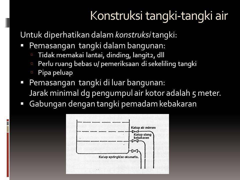 Konstruksi tangki-tangki air