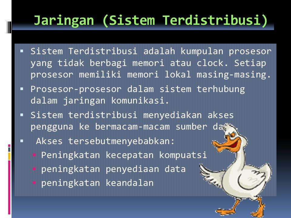 Jaringan (Sistem Terdistribusi)