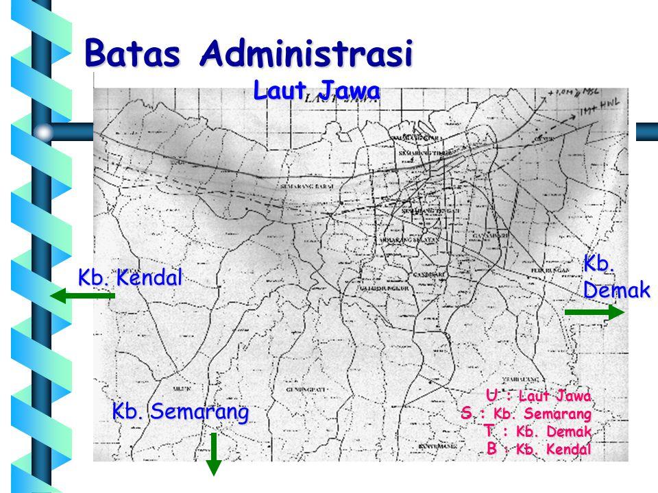 Batas Administrasi Laut Jawa Kb. Demak Kb. Kendal Kb. Semarang