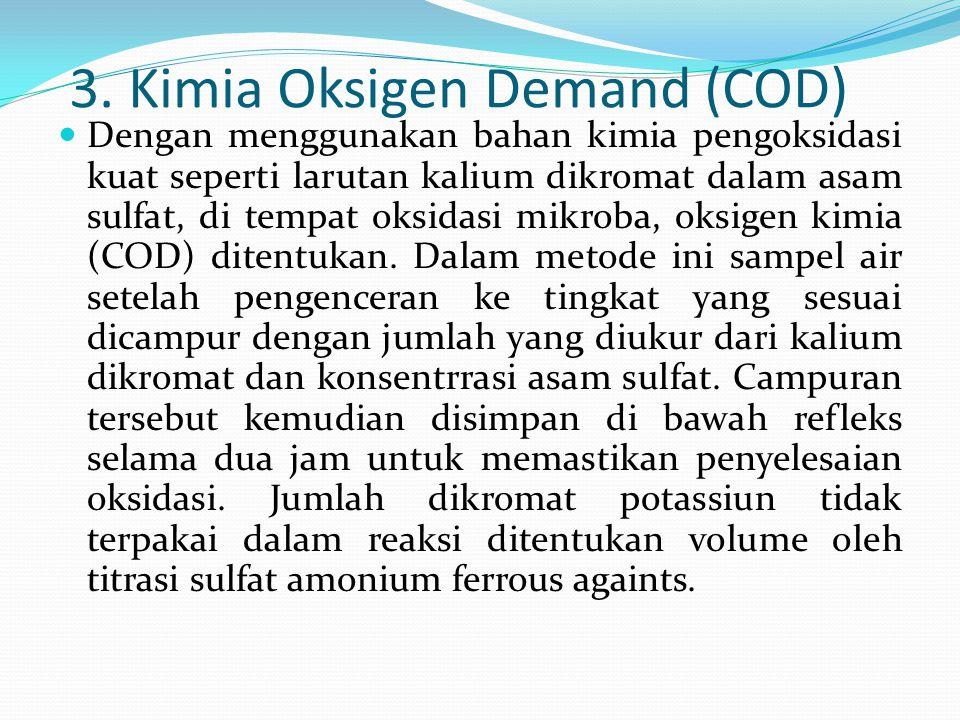3. Kimia Oksigen Demand (COD)