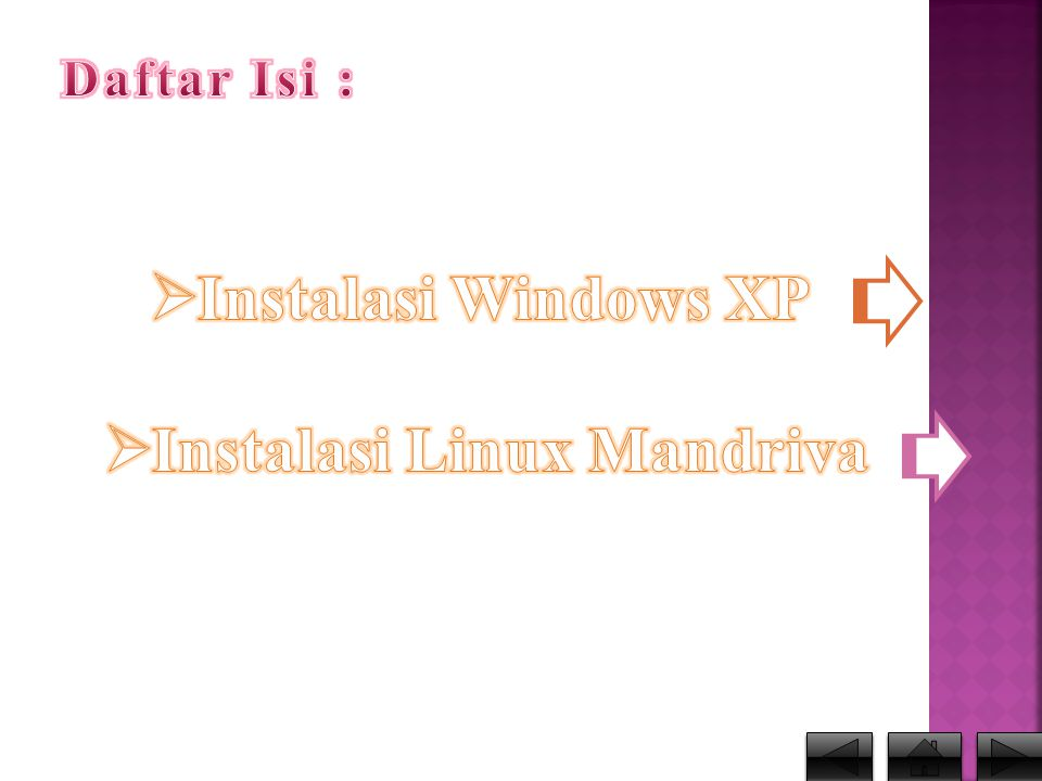 Instalasi Linux Mandriva
