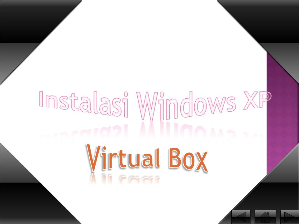 Instalasi Windows XP Virtual Box