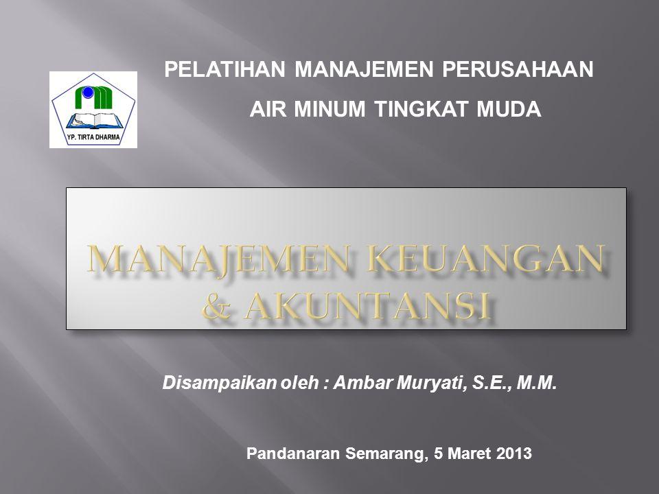 Manajemen Keuangan & akuNTANSI