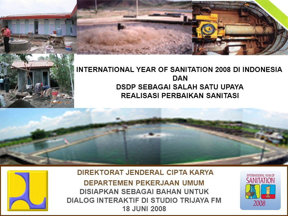 INTERNATIONAL YEAR OF SANITATION
