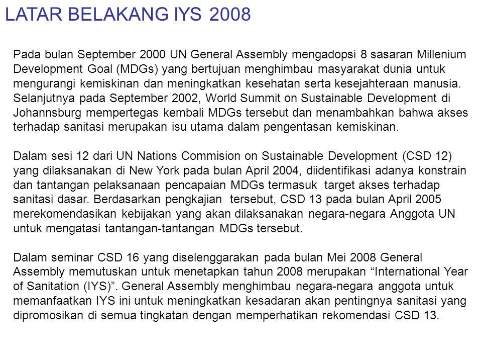 SASARAN IYS 2008
