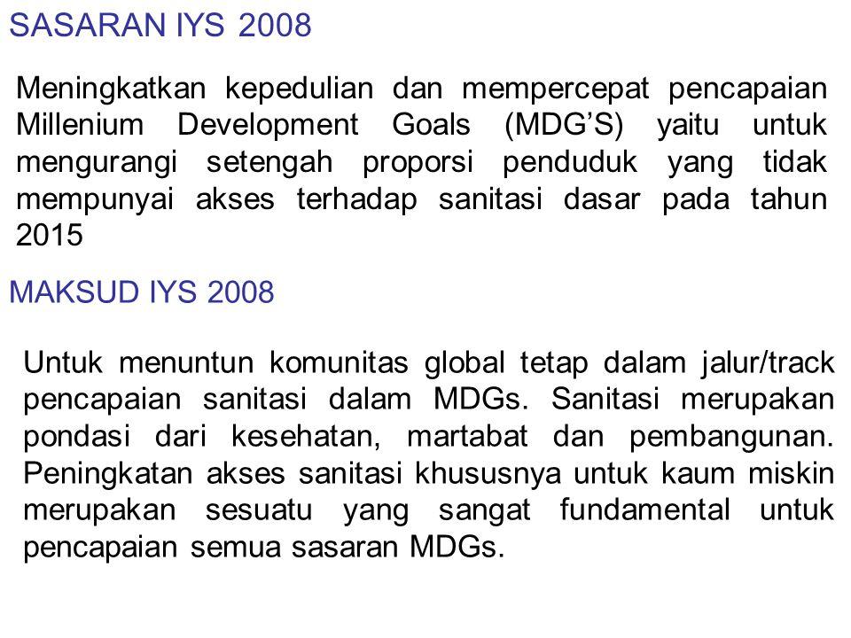 TUJUAN IYS 2008