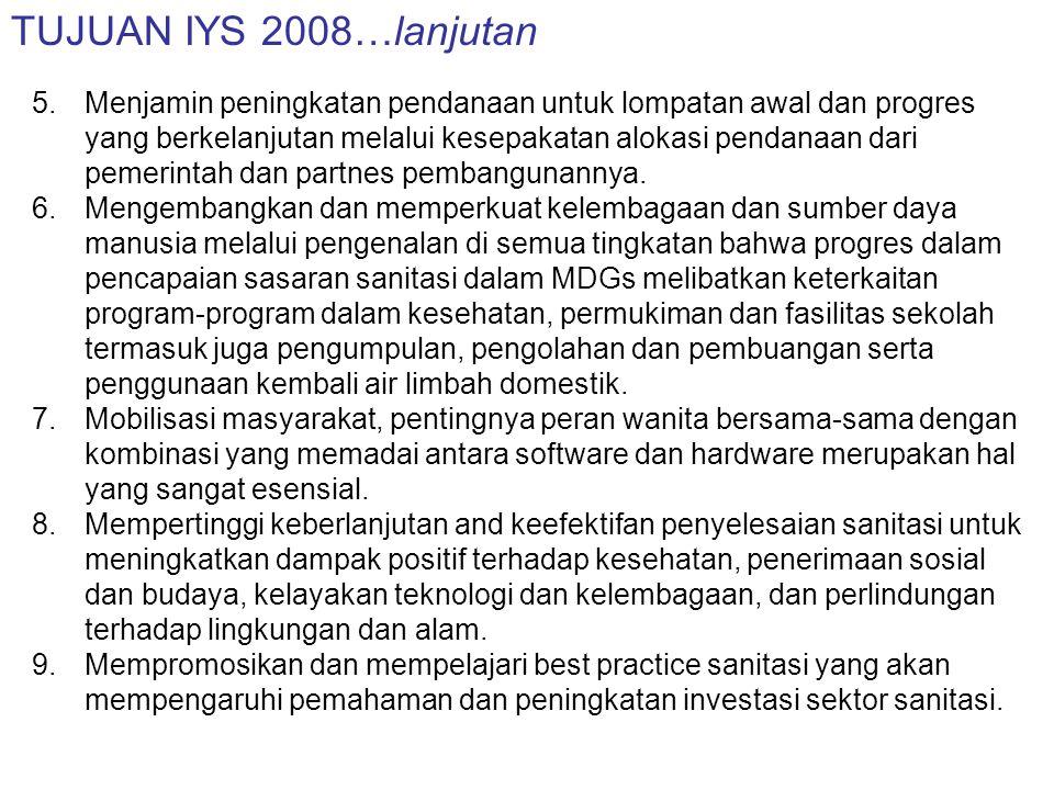 KEGIATAN-KEGIATAN TERKAIT IYS 2008 DI INDONESIA