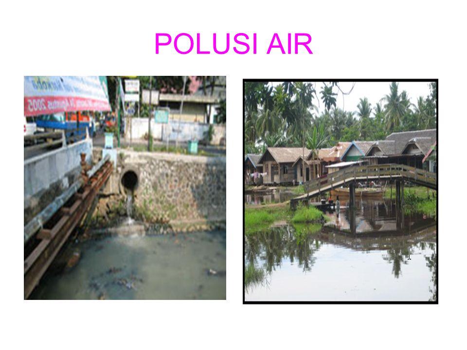 POLUSI AIR
