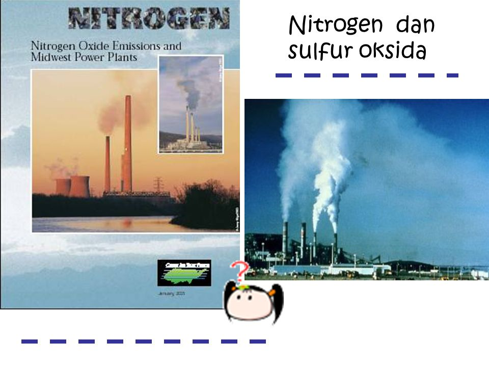Nitrogen dan sulfur oksida