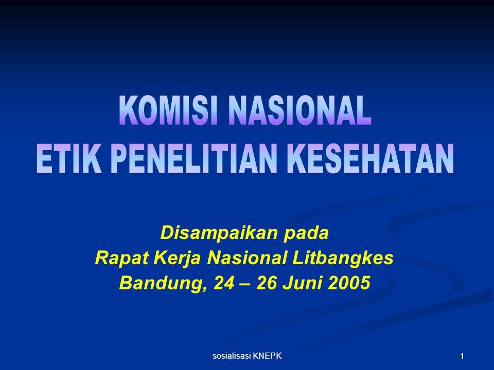 Rapat Kerja Nasional Litbangkes