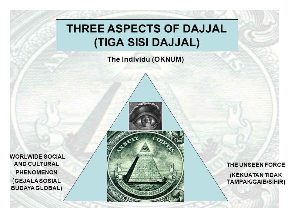 THREE ASPECTS OF DAJJAL (KEKUATAN TIDAK TAMPAK/GAIB/SIHIR)