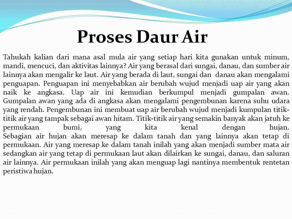 Proses Daur Air
