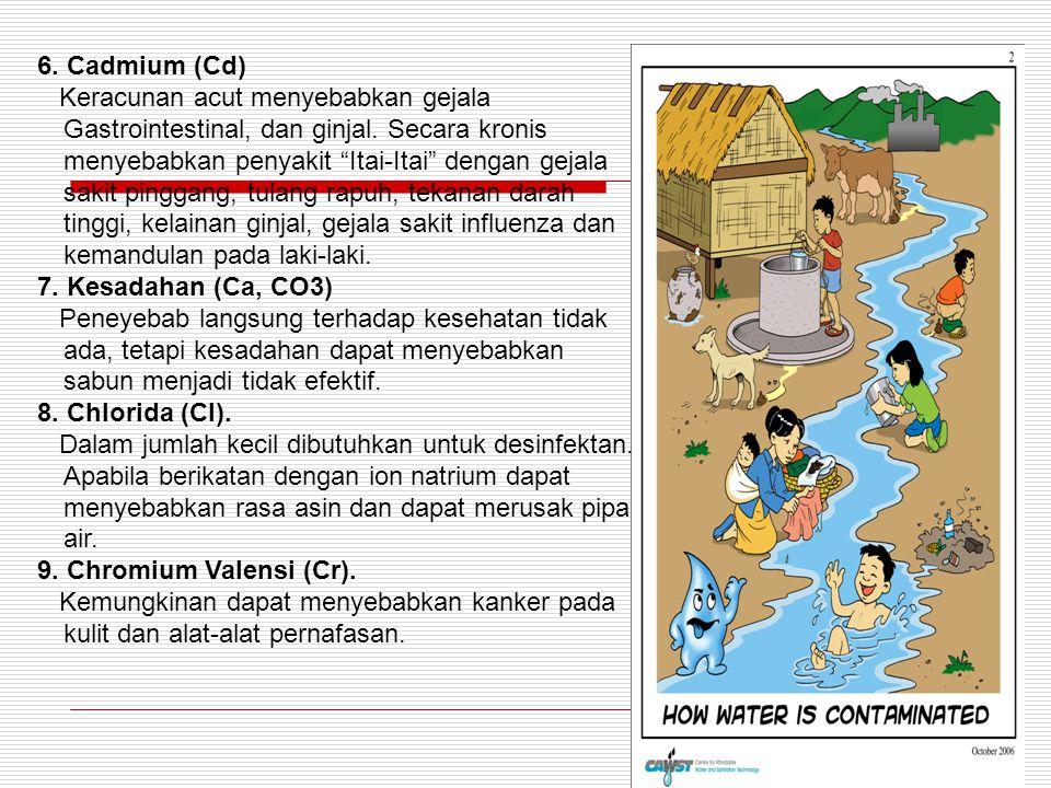 6. Cadmium (Cd)