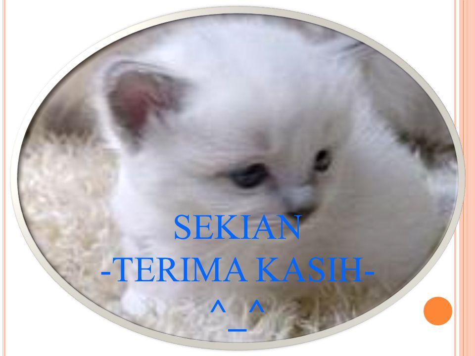 SEKIAN -TERIMA KASIH- ^_^