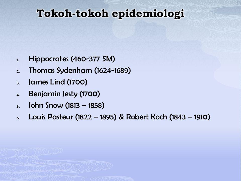 Tokoh-tokoh epidemiologi