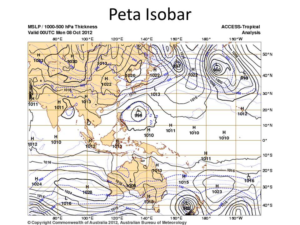 Peta Isobar