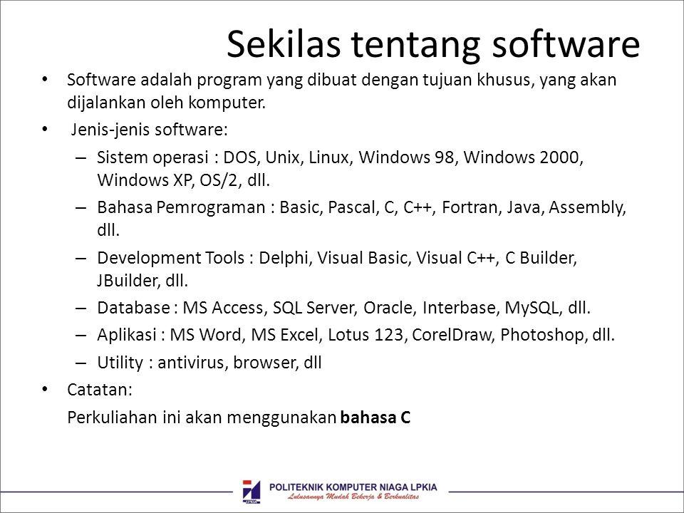 Sekilas tentang software