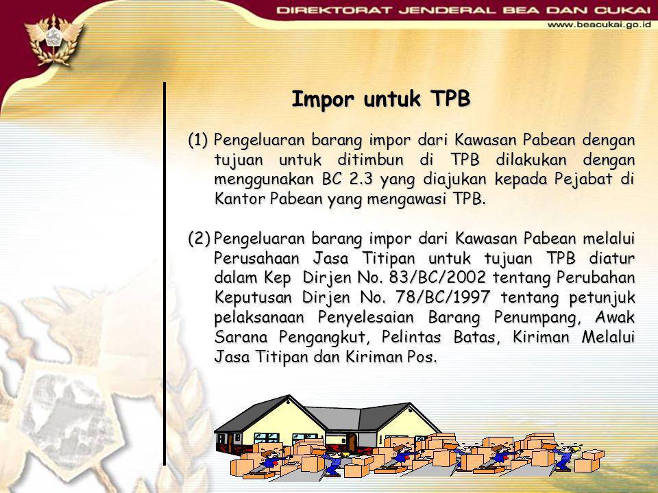 Impor untuk TPB