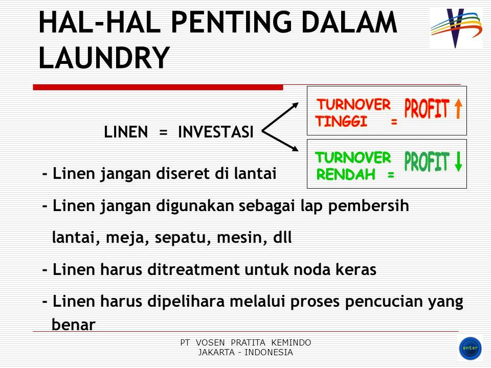 HAL-HAL PENTING DALAM LAUNDRY