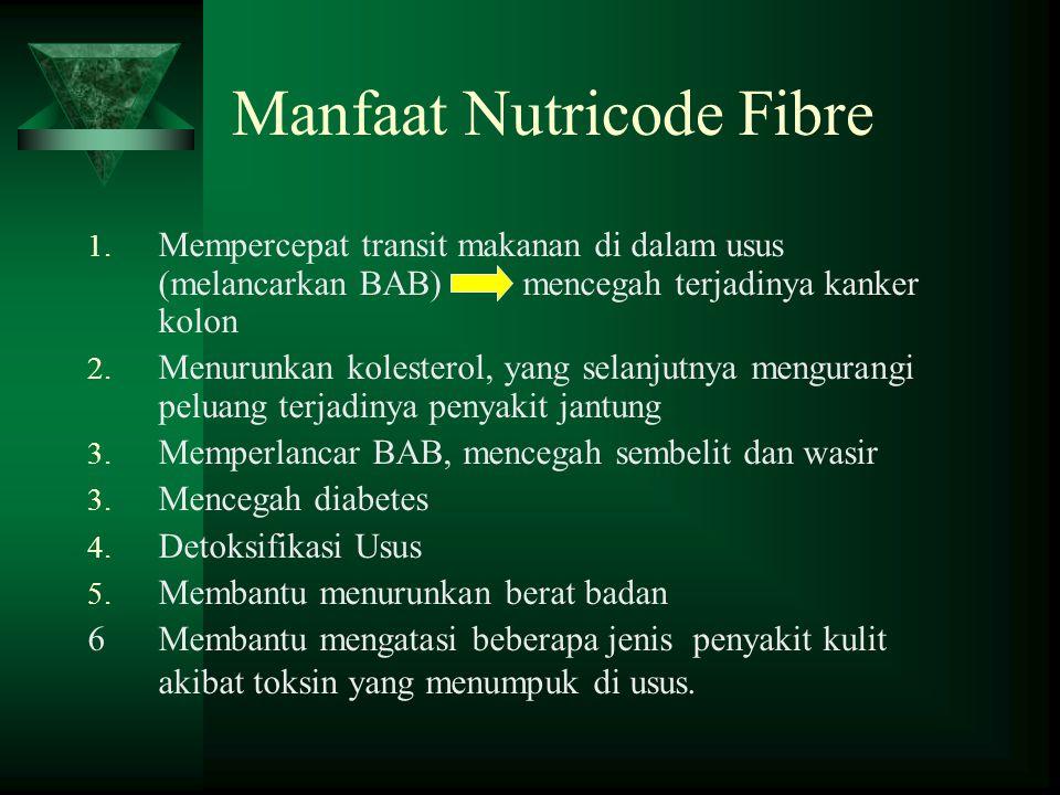 Manfaat Nutricode Fibre