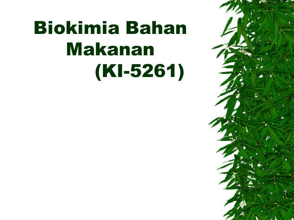 Biokimia Bahan Makanan (KI-5261)