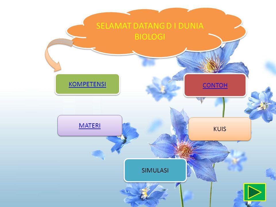 SELAMAT DATANG D I DUNIA BIOLOGI