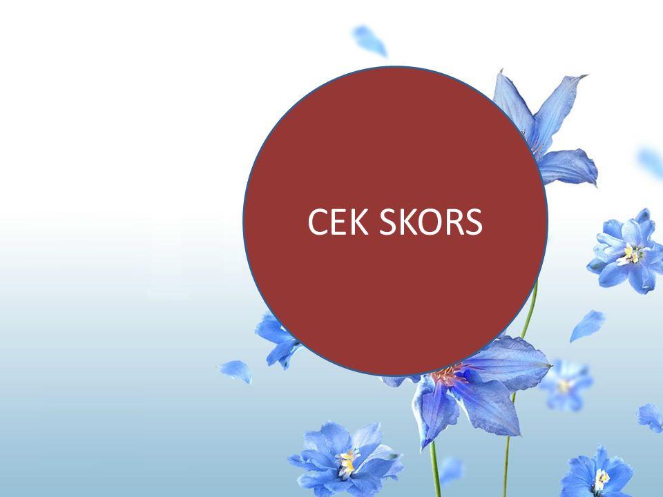 CEK SKORS E. Plasmodium ovale