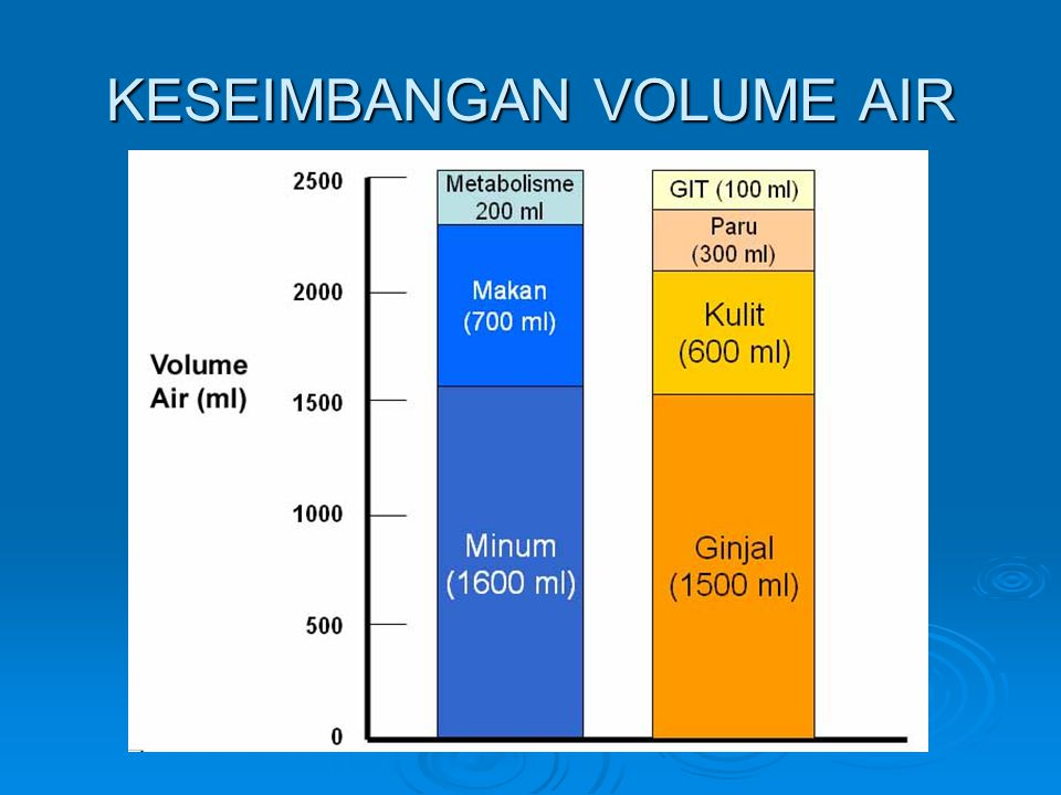 KESEIMBANGAN VOLUME AIR