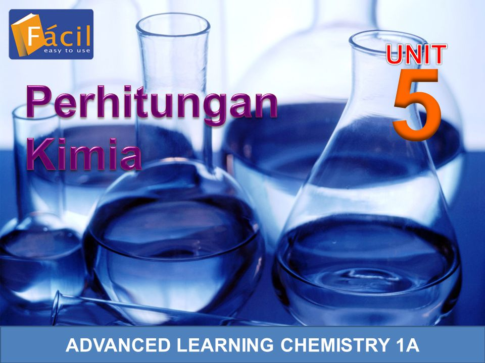 ADVANCED LEARNING CHEMISTRY 1A
