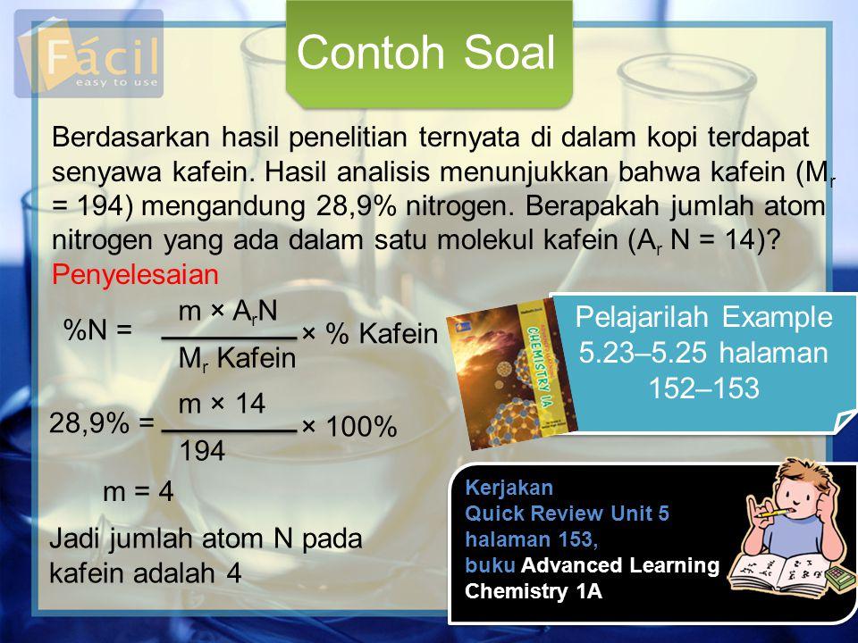 Pelajarilah Example 5.23–5.25 halaman 152–153