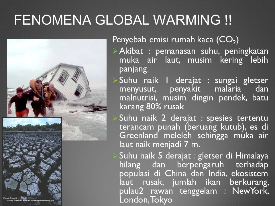 Fenomena global warming !!
