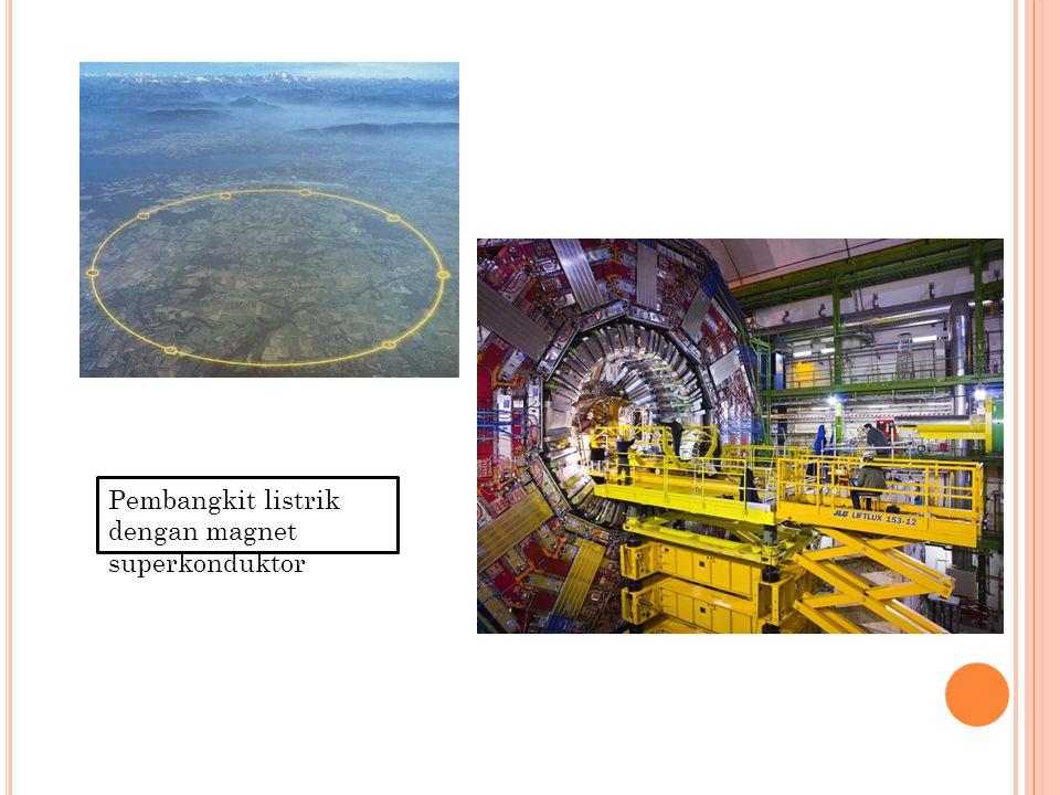 Pembangkit listrik dengan magnet superkonduktor