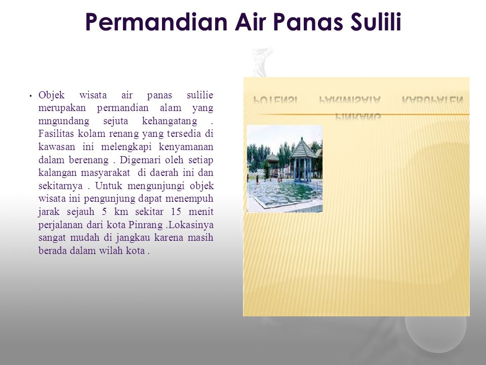Permandian Air Panas Sulili
