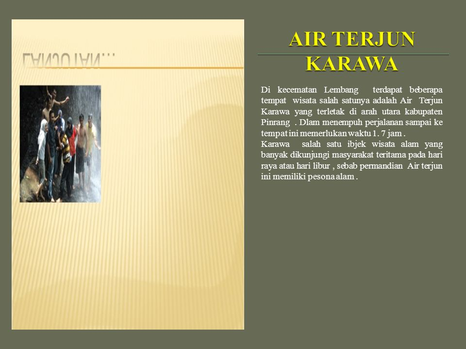 AIR TERJUN KARAWA