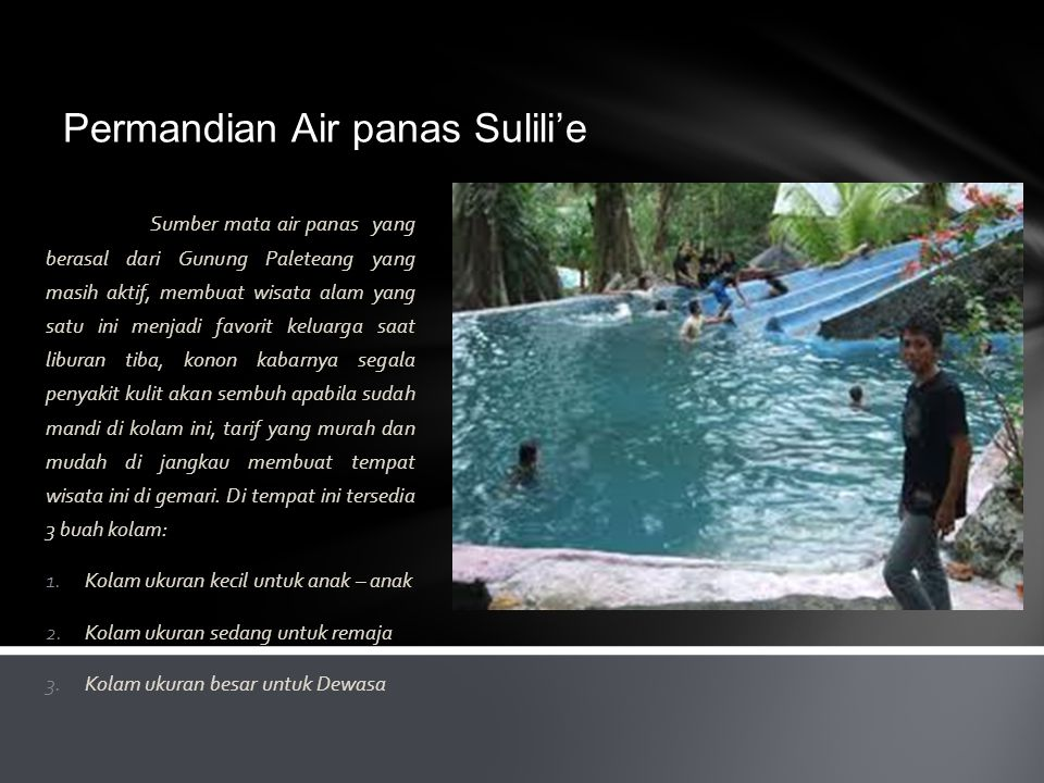 Permandian Air panas Sulili'e