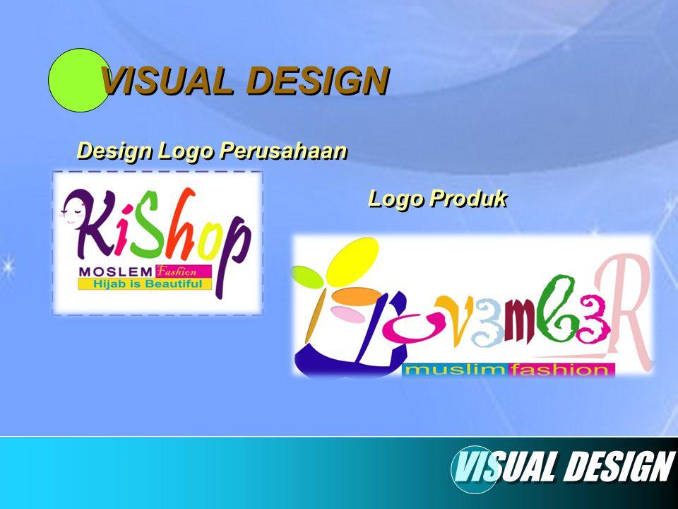 VISUAL DESIGN Design Logo Perusahaan Logo Produk VISUAL DESIGN